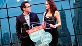 Brian D'Arcy James (TV's Smash) and Tammy Blanchard (How to Succeed in Business Without really Trying) make glamorous presenters (even if Blanchard can't remember who James is!).