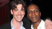 Christian Borle (Peter and the Starcatcher) and Leslie Odom, Jr. (who recently appeared in Leap of Faith) reunite after starring as TV love interests on Smash.
