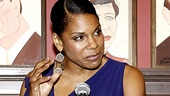 Audra McDonald is touched to be the recipient of the Outer Critics Circle Award for Outstanding Actress in a Musical for her performance in Porgy and Bess.