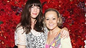 Lord of the Rings star Liv Tyler embraces End of the Rainbow star Tracie Bennett inside the fabulous Rainbow Room.