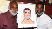 Veteran Broadway performer and vocal arranger Chapman Roberts drops by Sardi's to salute his pal Norm Lewis.