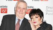 John Kander Dramatists Guild tribute – John Kander – Liza Minnelli