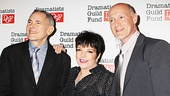 Producers Craig Zadan and Neil Meron, who brought Chicago to the big screen, flank special guest Liza Minnelli.