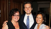 Alzheimers Gala  Jonathan Groff  Aunt Margie Wolpert  Mom Julie Groff