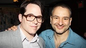 Nice Work headliner Matthew Broderick and book writer Joe DiPietro are happy to support their favorite leading lady on her big day!
