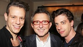 Peter and the Starcatcher Book Party  Adam Pascal  Thomas Schumacher  Christian Borle
