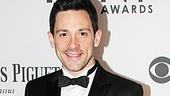 Before winning the award for Best Actor in a Musical, Once star Steve Kazee is dressed to the nines in Calvin Klein on the red carpet.