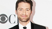 Glee star, Broadway alum and Tony presenter Matthew Morrison looks stylish on the red carpet.
