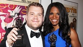 2012 Tony Awards Winners Circle  James Corden- Audra McDonald