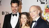 Evita stars Ricky Martin and Elena Roger support their co-star, Tony nominee Michael Cerveris.