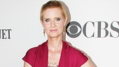 Wit nominee Cynthia Nixon looks stunning at the Tony Awards.