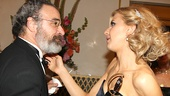 Mandy Patinkin offers heartfelt congrats to newly minted Tony winner Nina Arianda.