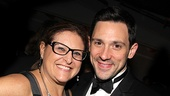 Once Tony party  Liz Caplan  Steve Kazee