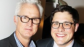 Mad Men star and Broadway vet John Slattery is proud to see his TV co-star Rich Sommer make his Broadway debut!