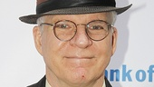 A nattily hatted Steve Martin set Shakespeare's words to music in the current park production of As You Like It.