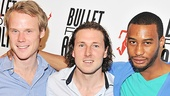 Smoking Aces! David Coomber, Brandon Coffey and Tyler Jacob Rollinson have a bromance brewing in Bullet For Adolf that is right on target.
