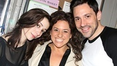Marissa Jaret Winokur begins her Broadway tour with the Tony-winning musical Once! The actress hangs out backstage with the show's leading Girl and Guy, Cristin Milioti and Tony winner Steve Kazee.