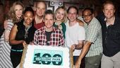 Playwright Bruce Norris joins his Clybourne cast to show off their delicious accomplishment.