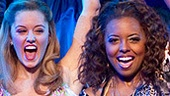 Taylor Louderman, Adrienne Warren and the cast of Bring It On: The Musical.