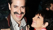 It looks like Liza Minnelli can't take her eyes off the biggest baddie on Broadway, Black Stache (Matthew Saldivar)!