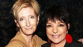 Liza Minnelli is thrilled to share her night at Starcatcher with Sheila McCarthy, her co-star in the film Steppin' Out.