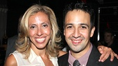 Bring It On Opening Night  Amanda Green  Lin-Manuel Miranda