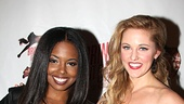Bring It On Opening Night  Adrienne Warren  Taylor Louderman