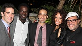 Bring It On Opening Night  Andy Blankenbuehler  Joshua Henry  Lin-Manuel Miranda - Janet Dacal  Eliseo Roman