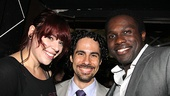 Bring It On Opening Night  Alysha Umphress  Alex Lacamoire  Joshua Henry
