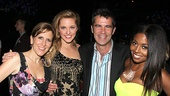 Bring It On Opening Night  Kristin Caskey  Taylor Louderman  Mike Issacson  Adrienne Warren