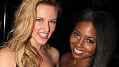 Bring It On Opening Night  Taylor Louderman  Adrienne Warren 