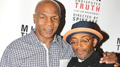 Mike Tyson and Spike Lee are thrilled to be making their Broadway debuts together.