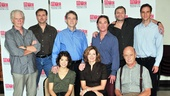 Meet the entire cast of An Enemy of the People: (front) Maite Alina, Kathleen McNenny and Gerry Bamman; (back) Michael Siberry, Randall Newsome, Boyd Gaines, Richard Thomas, John Procaccino and James Waterston.