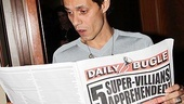 Spider-Man Turn Off The Dark  Marc Anthony Visit  Marc Anthony
