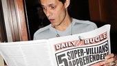 Spider-Man Turn Off The Dark – Marc Anthony Visit – Marc Anthony