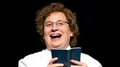 Jared Gertner as Elder Cunningham in the national tour of The Book of Mormon.