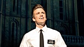 Gavin Creel as Elder Price in the national tour of The Book of Mormon.