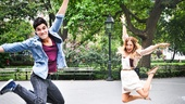 "Of course the stars of Bring It On can jump! Recalling the day they met, Elle says, ""I kind of felt like we were going to be friends forever."""