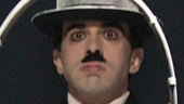 Rob McClure as Charlie Chaplin in Chaplin.