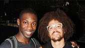 Berry Gordy and LMFAO at Bring It On  Redfoo  Dominique Johnson