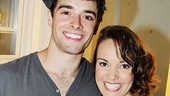 College buddies Corey Cott and Kara Lindsay are so excited to play together onstage every night in Newsies