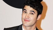 Criss dressed to the nines before meeting fans at Saks Fifth Avenue.