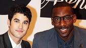 Fashion's Night Out — Darren Criss — Amare Stoudemire