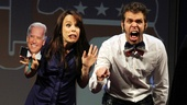 Looks like the election gets new stars Leslie Kritzer and Perez Hilton all riled up.