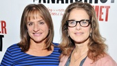 Two-time Tony Award winner Patti LuPone and Oscar nominee Debra Winger greet the press and dish about David Mamets new play The Anarchist.  