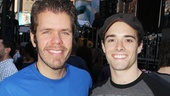 Perez Hilton befriends new head Newsie Corey Cott.