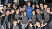 Broadway on Broadway 2012—Perez Hilton—Newsies