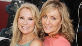 Kathie Lee Gifford and Mamma Mia! star Judy McLane share a moment.