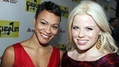 Chaplin  Opening Night  Megan Hilty  Carly Hughes