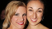 Jenn Colella parties the night away with her lovely girlfriend Siobhan.